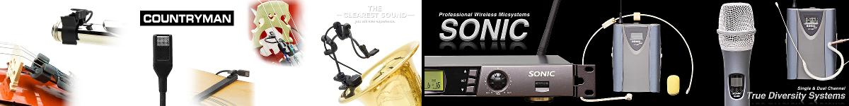 Mikrofone + Funk-Systeme