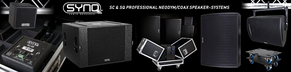 SYNQ AUDIO SC & SQ