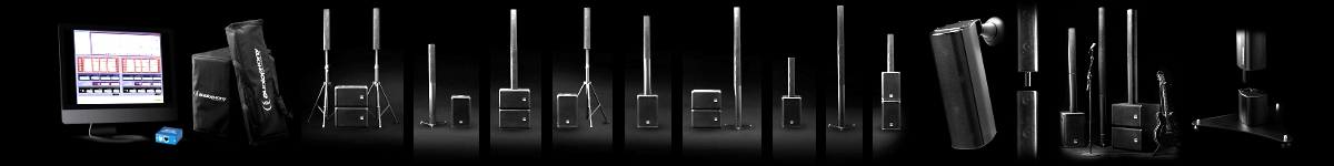 Aktive Lautsprechersysteme