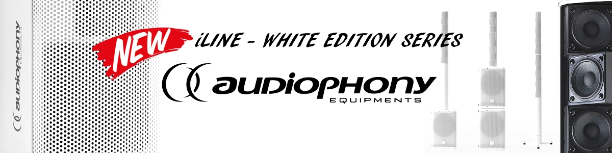 AUDIOPHONY iLINE - white Edition