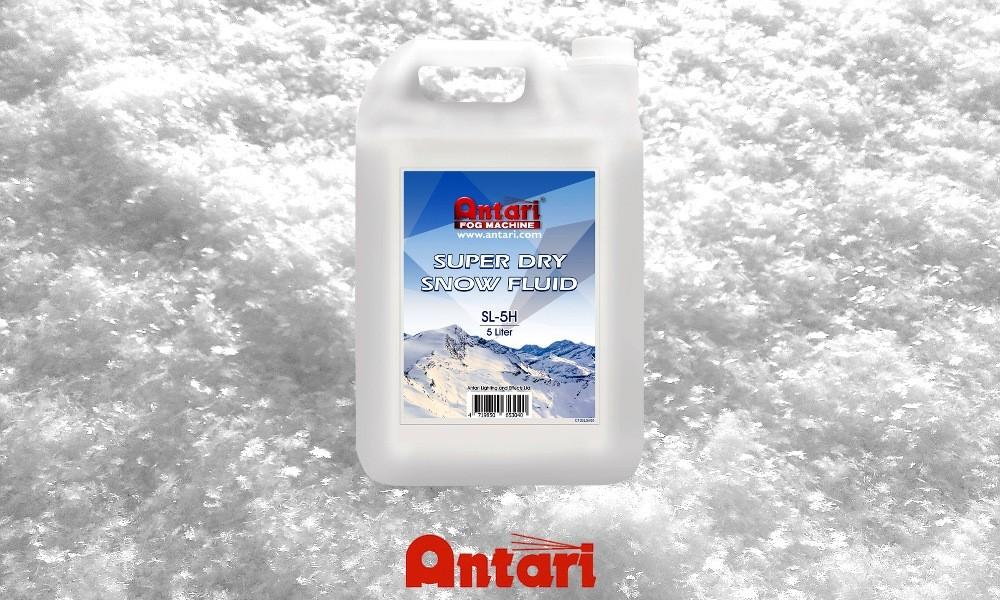ANTARI SL-5H Super Dry Snow Liquid 5L