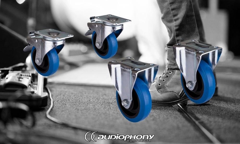 AUDIOPHONY ATOM-WHEELS Rädersatz zu Subbass