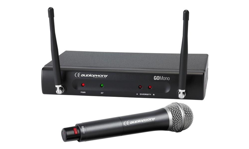 AUDIOPHONY GO-80H Drahtlos-Set mit Handmikrofon