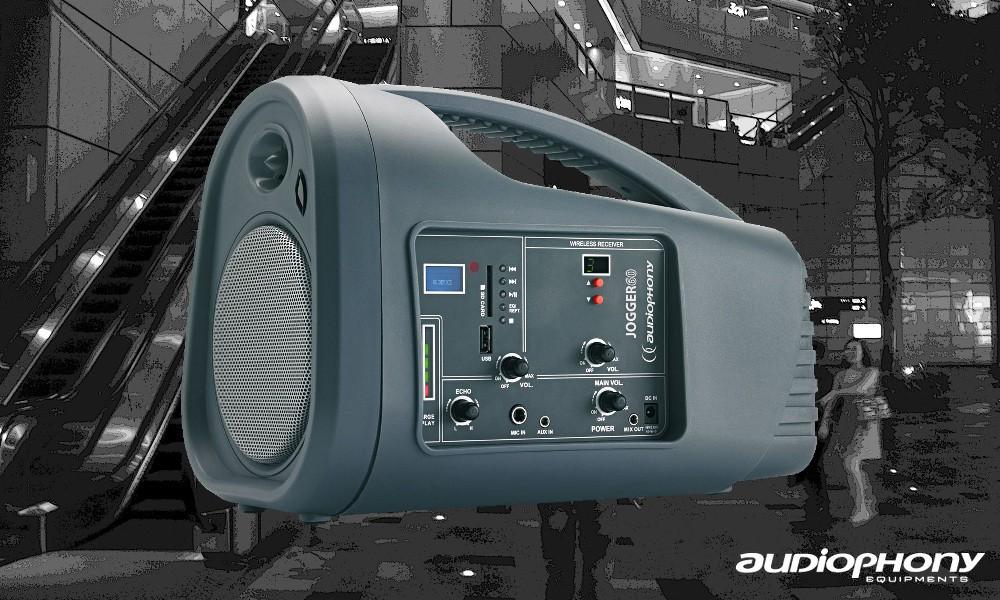 AUDIOPHONY JOGGER 60 - Tragbares Beschallungs-System