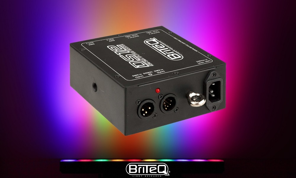 BRITEQ DS12 Aktiv DMX-Splitter/Booster