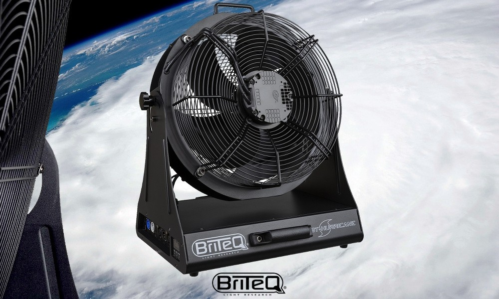 BRITEQ BT-HURRICANE Studio/Stage-Fan