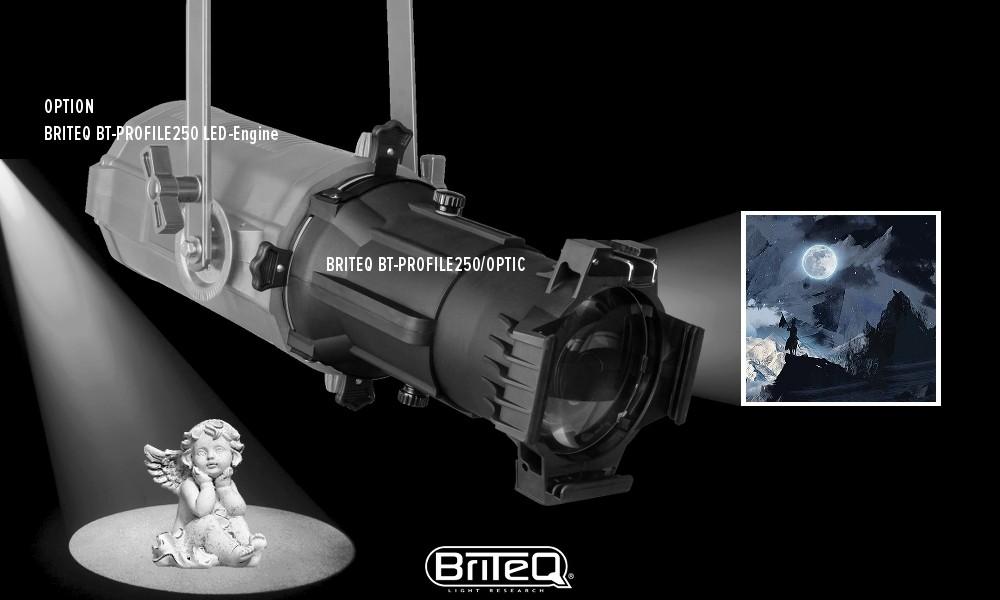 BRITEQ PROFILE250 OPTIK mit fixem Abstrahlwinkel