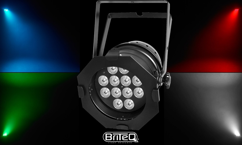 BRITEQ BT-STAGEPAR 6in1 RGBWA+UV 12x12W