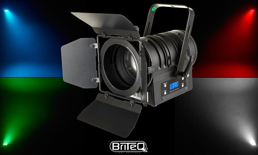BRITEQ BT-THEATRE 60FC RGBW LED-Projektor 60W - Zoom