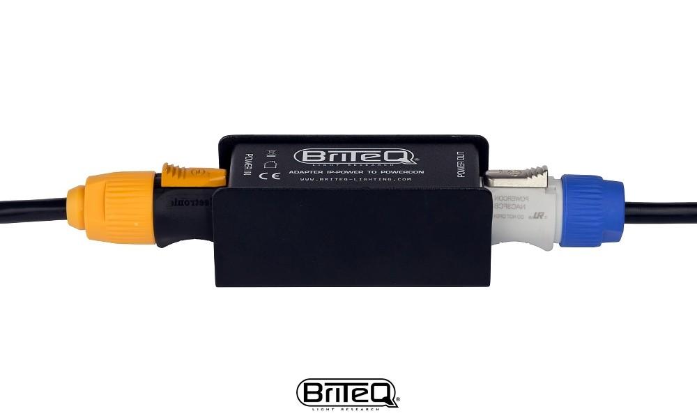 BRITEQ Konvertierungs-Adapter IP-Power/Powercon