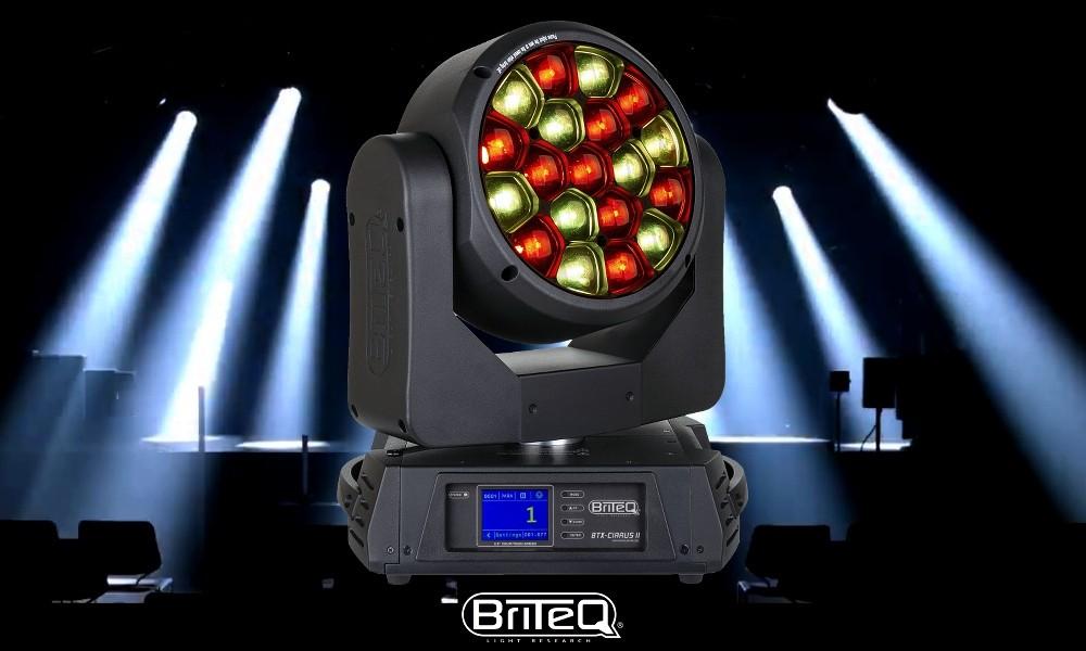 BRITEQ BTX-CIRRUS II Moving Head 19x30W RGBW OSRAM-LEDS