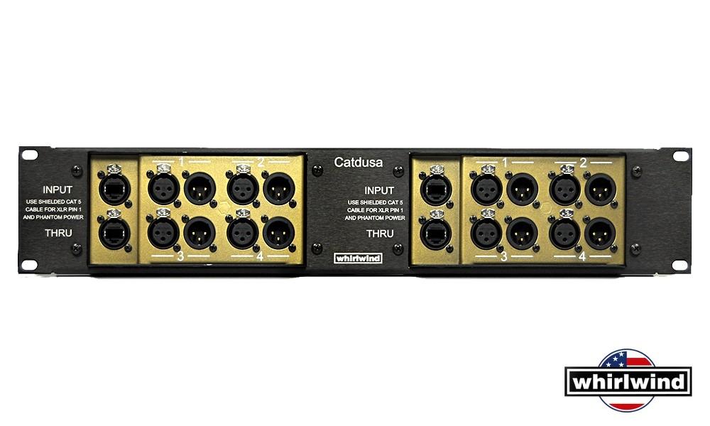 "WHIRLWIND CATDUSA 19"" Dual Breakout Box"