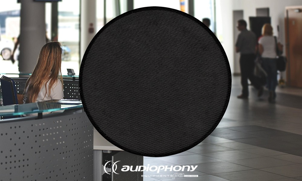 AUDIOPHONY CHP-520GB Magnetischer Frontgrill schwarz