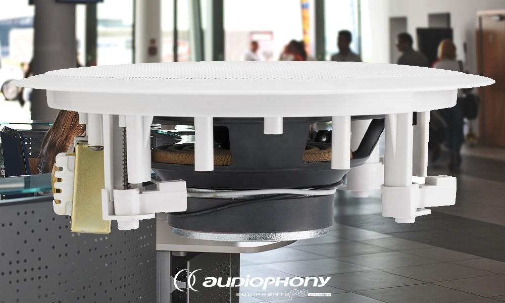 AUDIOPHONY CHP-610 Deckenlautsprecher 2-Weg-System 10W/100V
