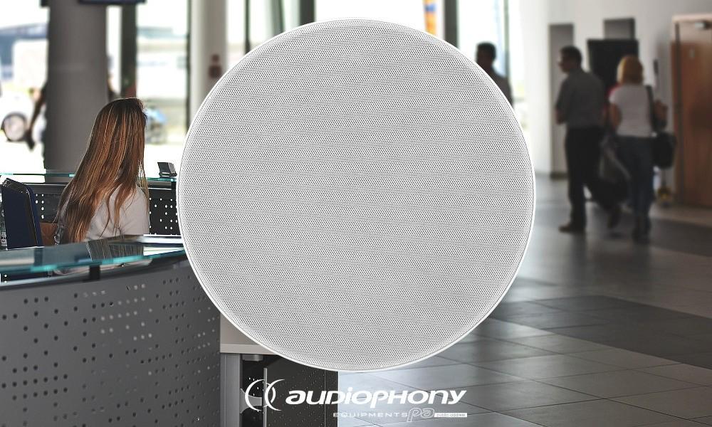 AUDIOPHONY CHP-630 Deckenlautsprecher 30W/100V/8Ohm