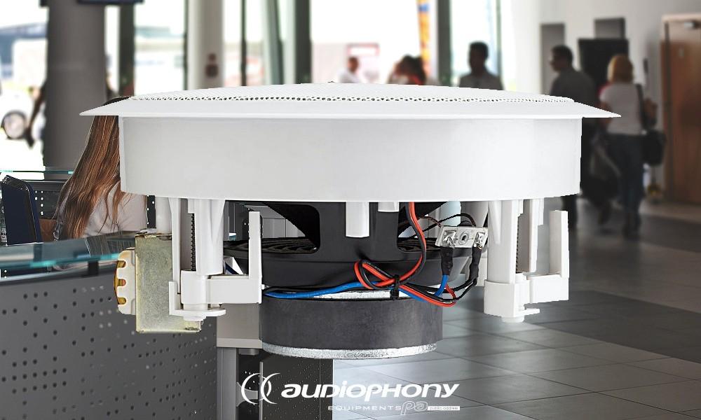 AUDIOPHONY CHP-620 Deckenlautsprecher 2-Weg-System 20W/100V