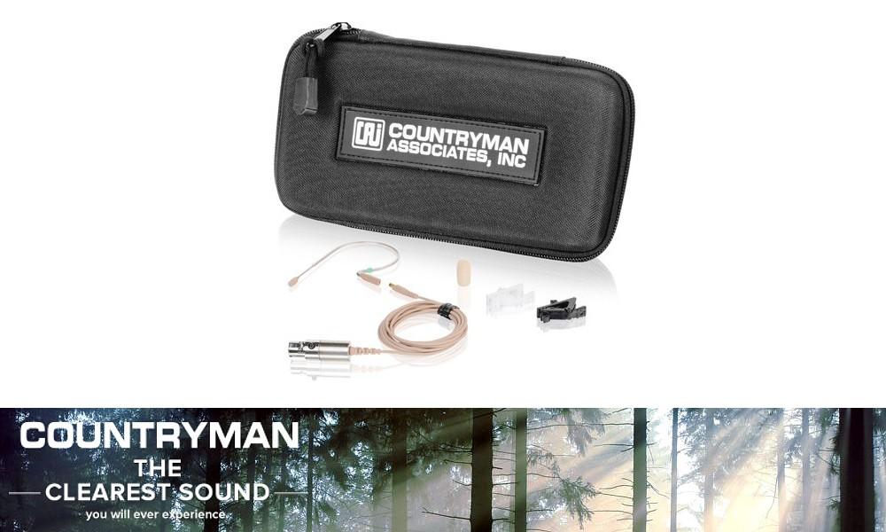 COUNTRYMAN E2-Serie High-End Ohrbügel-Mikrofone