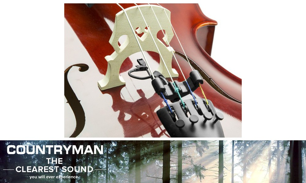 COUNTRYMAN I2 Instrumenten-Mikrofon Bass- und Cello-Set - BKIT