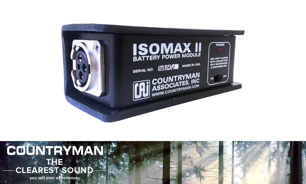 COUNTRYMAN ISOMAX II Phantom Power Unit