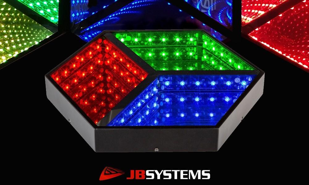 JB SYSTEMS HEXAGON 3D LED-Tunnel-Effekt