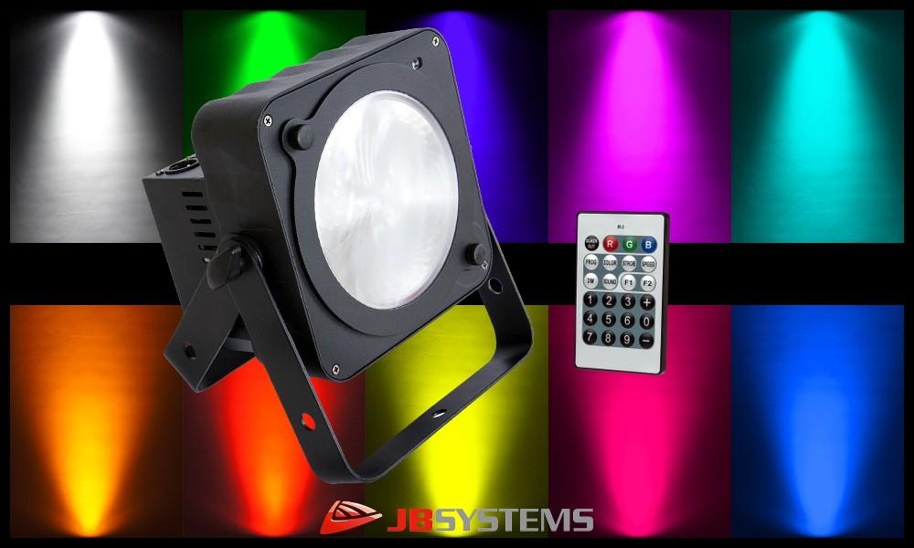 JB SYSTEMS COB-PLANO RGB LED-Projektor 36W