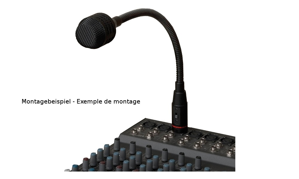 JB SYSTEMS JB-30 Schwanenhalsmikrofon