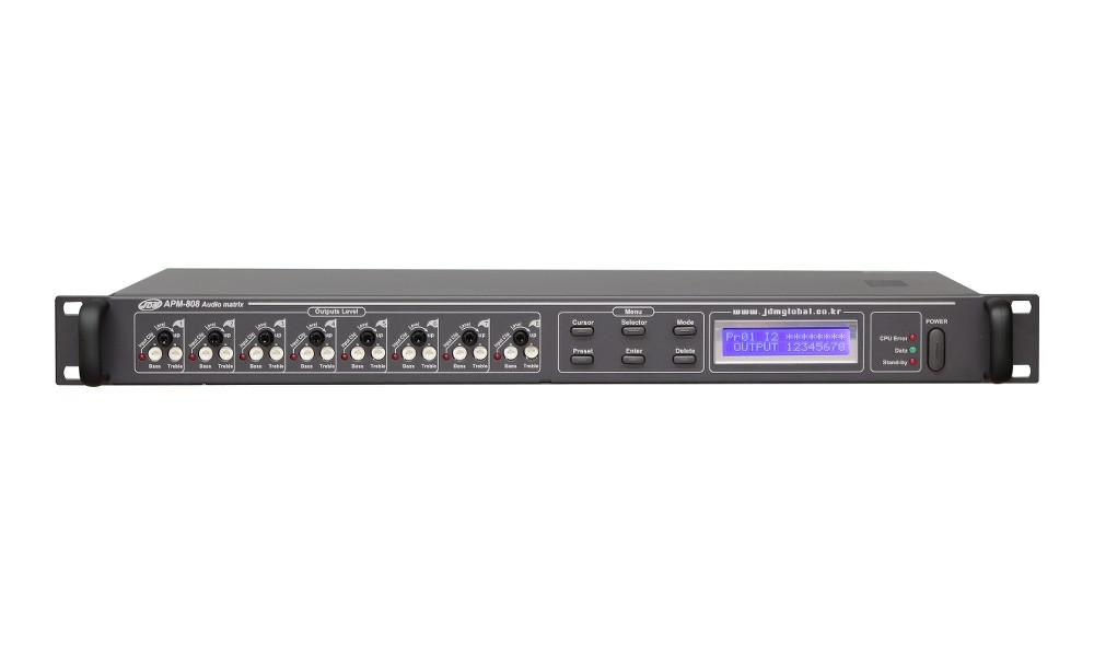 JD-MEDIA APM-808 Audio Matrix