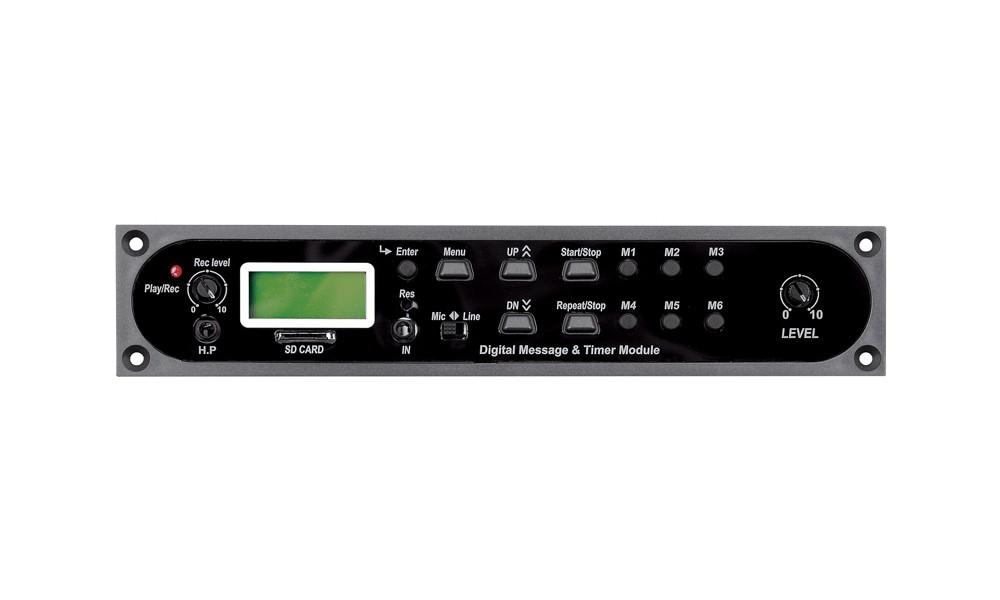 JD-MEDIA DMT-100 Digitales Durchsage/Jingle und Timer Modul