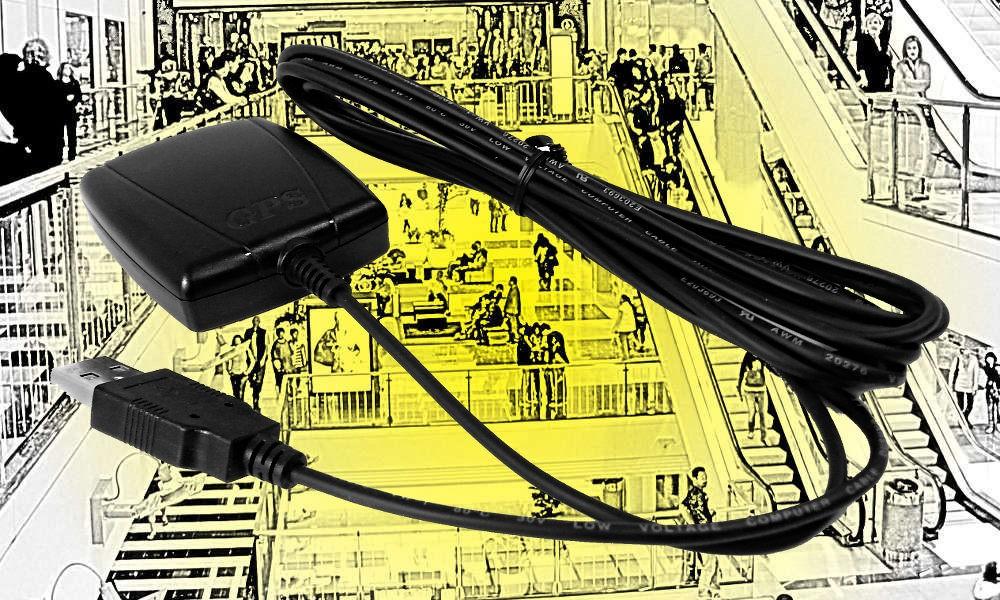 JD-MEDIA GPS-2500 GPS-Antenne zu WT-1004