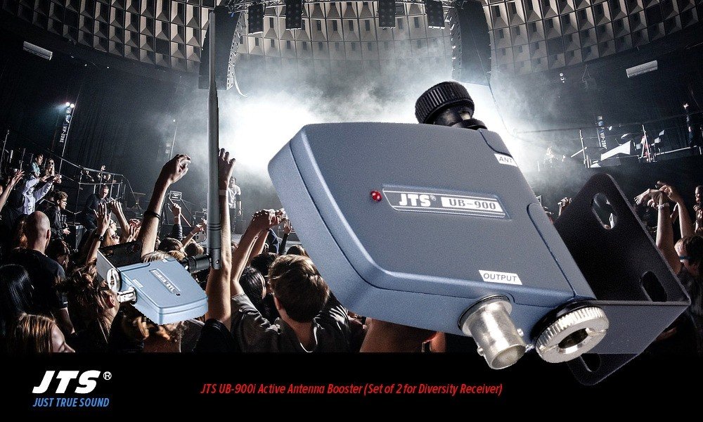 JTS UB-900i Aktiv UHF Antennen-Booster