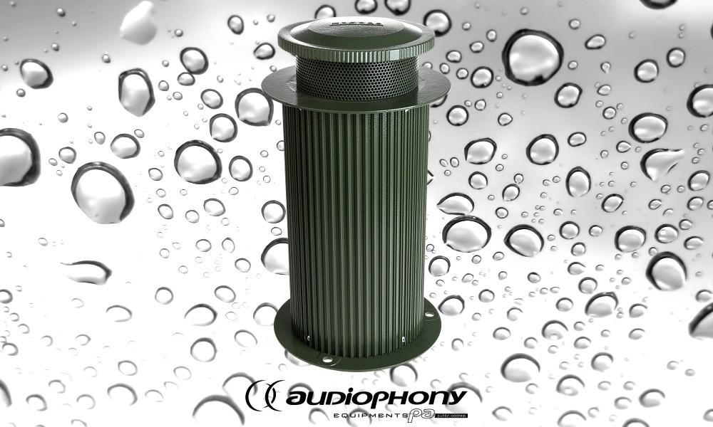 AUDIOPHONY KIOSK 45 ELA-Aussenlautsprecher IP66/45W/100V