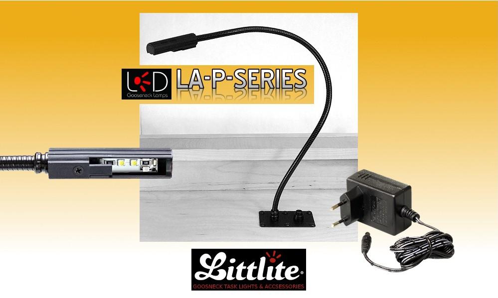 LITTLITE LA-P-LED Pultlampen Set mit Dimmer - LED-Version