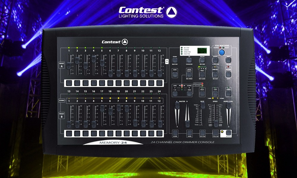 CONTEST MEMORY-24 DMX-Mixer