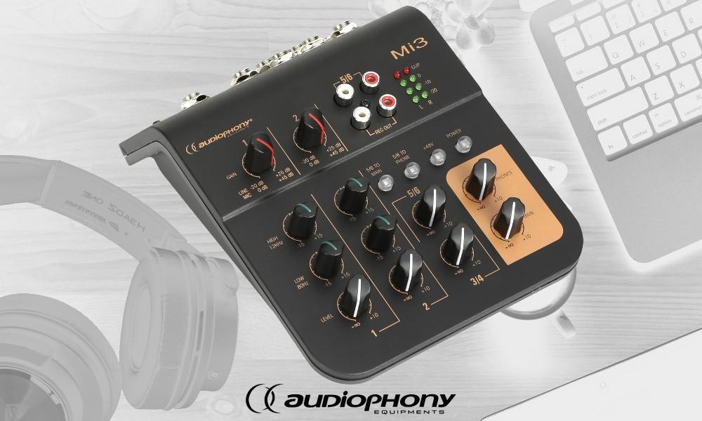 AUDIOPHONY Mi3 Audio-Mixer