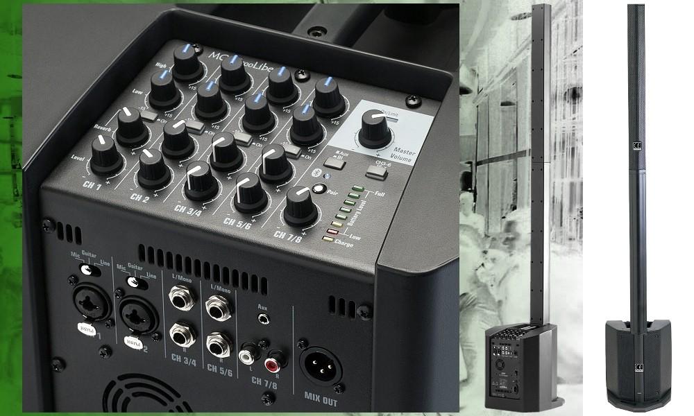 AUDIOPHONY MOJO500Liberty PA-System BT/FX 250W/500W