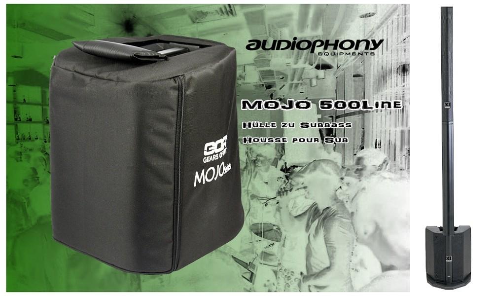 AUDIOPHONY MOJO500 Hülle zu Subbass