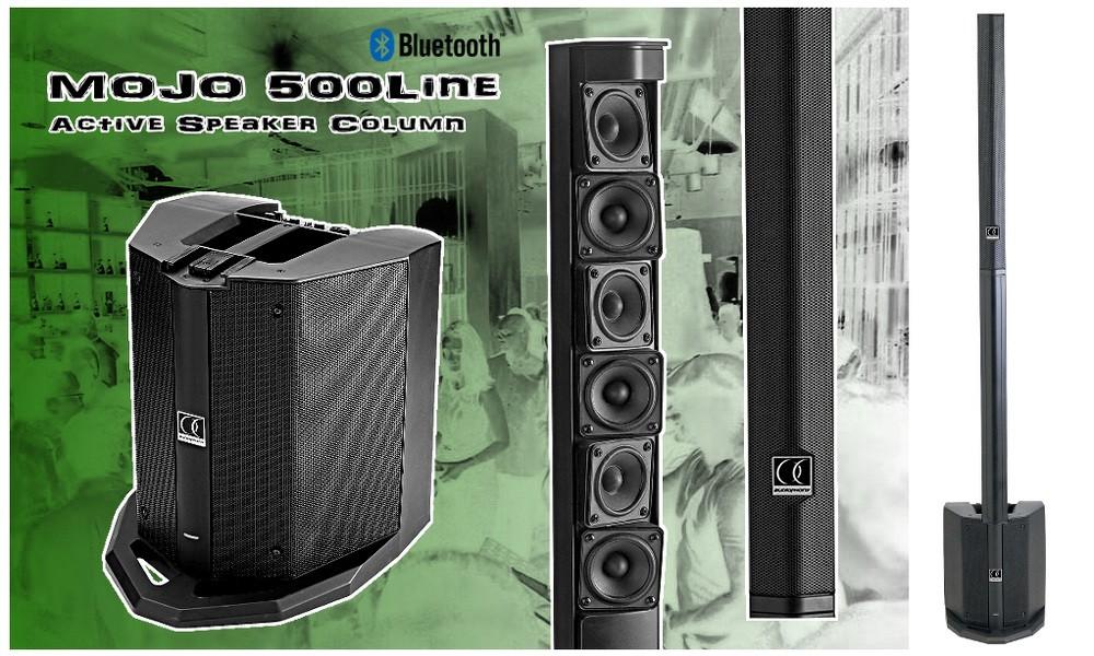 AUDIOPHONY MOJO500Line PA-System Mixer/BT 250W/500W