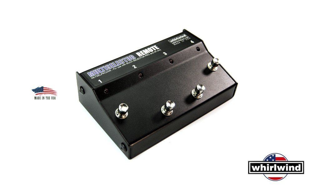 WHIRLWIND MULTISELECTOR PRO4XR REMOTE
