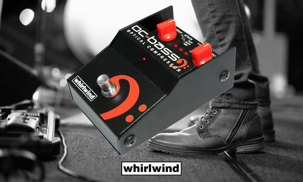 WHIRLWIND OC-BASS - Optischer Bass Kompressor/Limiter