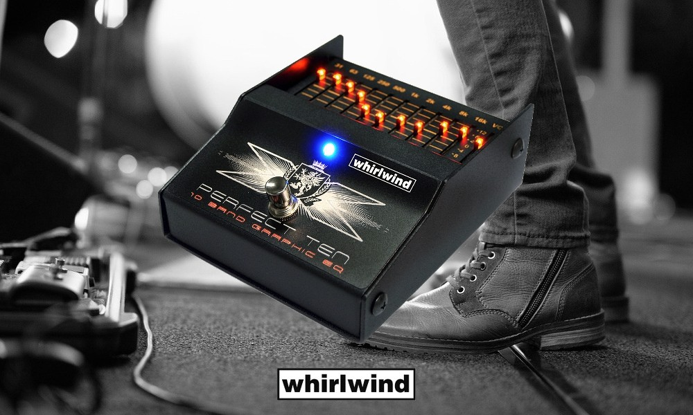 WHIRLWIND PERFECT-TEN 10-Band EQ