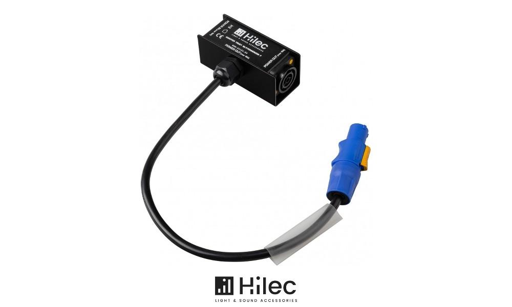 HILEC T-SPLIT mit NEUTRIK® TRUE1 M/F - Powercon F