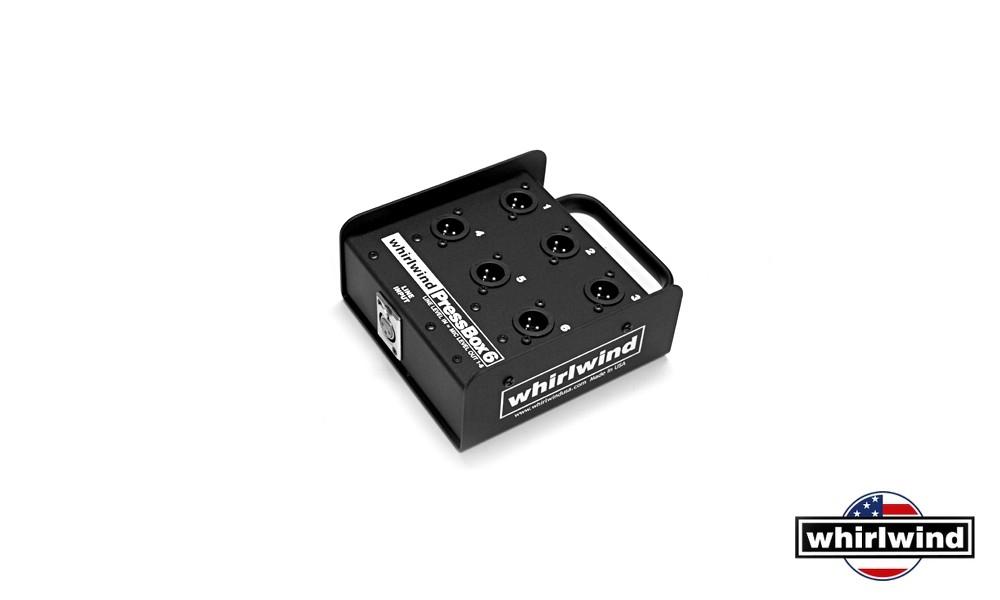 WHIRLWIND PB06 passive 6CH-PRESSBOX