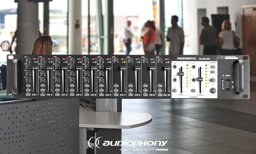 AUDIOPHONY PREZONE642 Mixer/Preamp