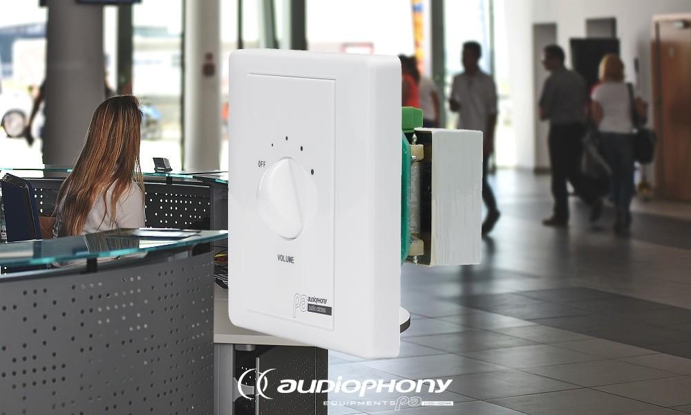 AUDIOPHONY REG60 Lautstärkesteller ELA/100V/60W
