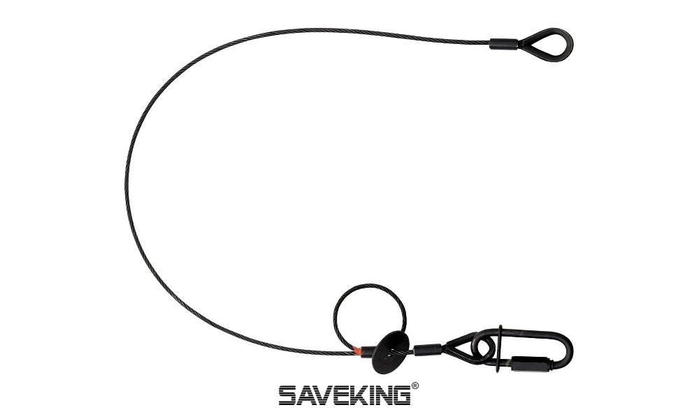 SAVEKING 3/600 Fallabsorbierendes Sicherungsseil - schwarz