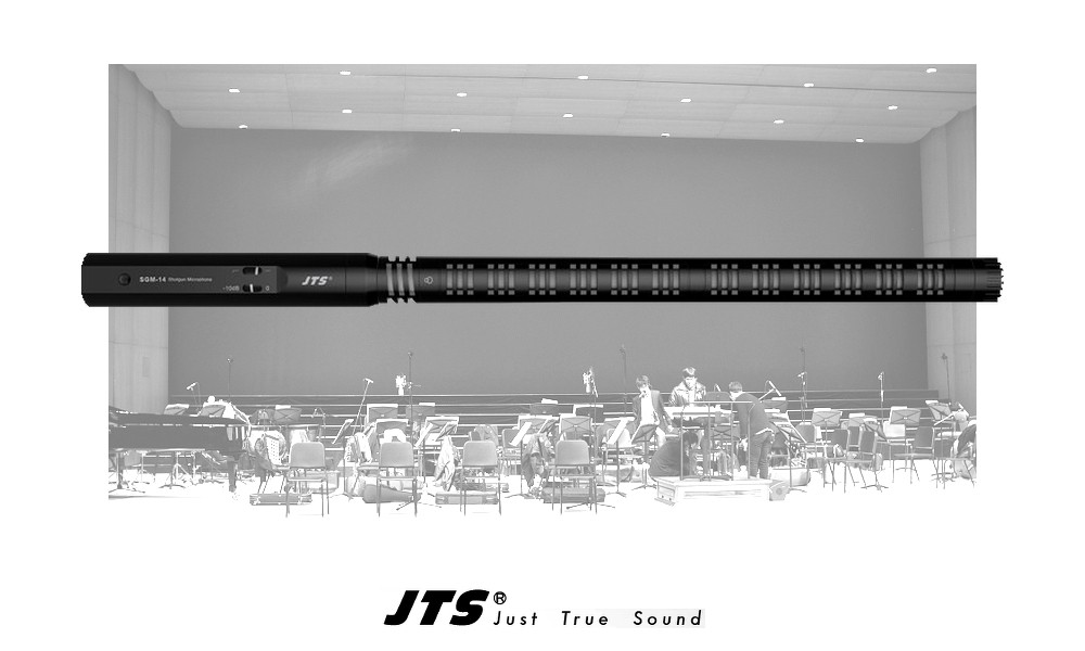 JTS SGM-14 Shotgun Kondensator-Richtmikrofon