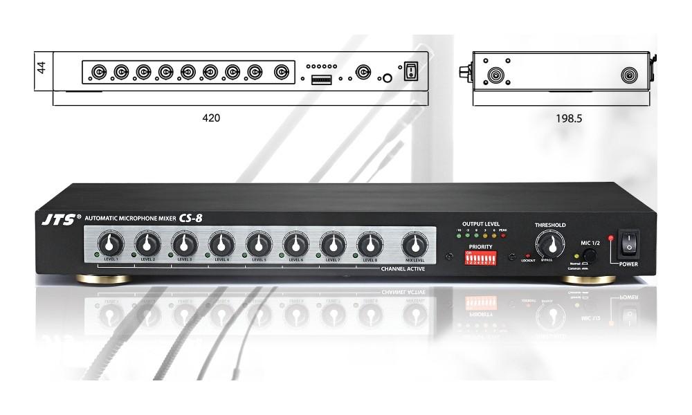 JTS CS-8 Automatic Mixer
