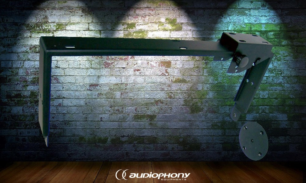 AUDIOPHONY SUP10b - Wandhalterung Schwarz