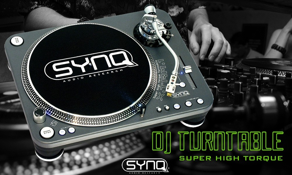 SYNQ XTRM-1 Professional High Torque Direct Drive Plattenspieler