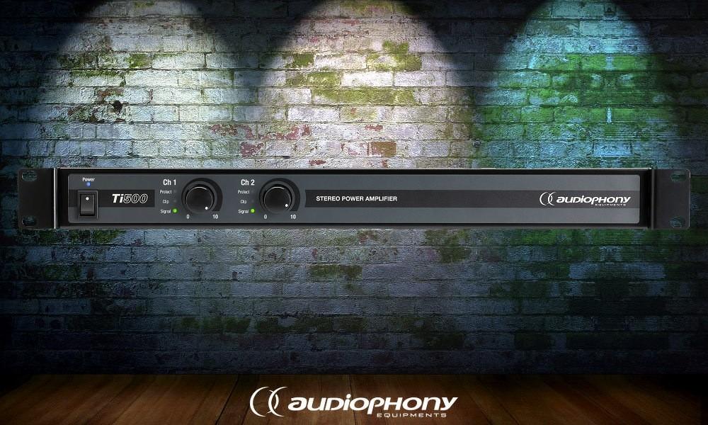 AUDIOPHONY Ti-500 Digital-Endstufe 2 x 250W